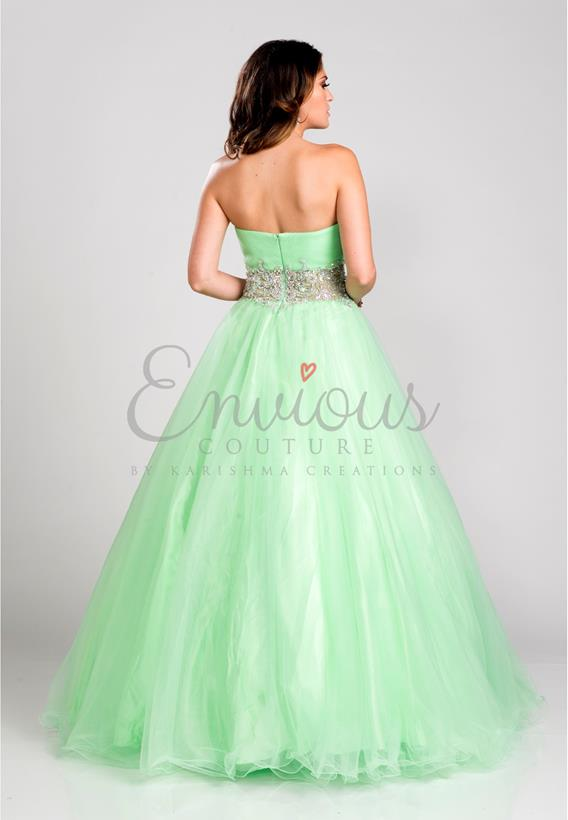 TULLE CORAL,LIME 15133