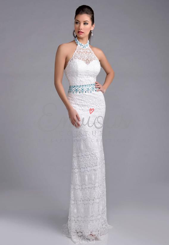 LACE DIAMOND WHITE,IVORY 16041