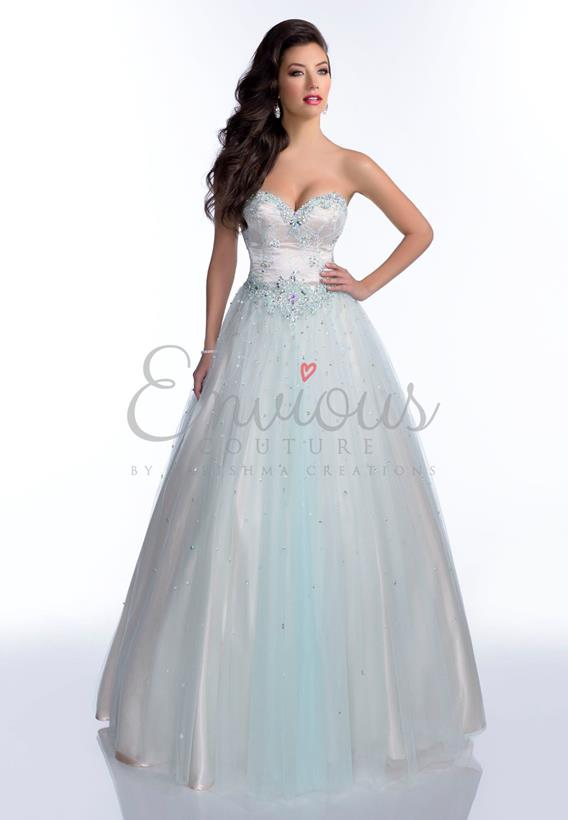 BEADED TULLE BLUSH,AQUA,BLACK 16096