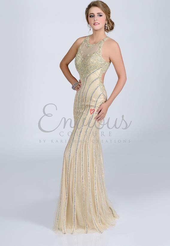 TULLE LACE GOLD,IVORY 16218