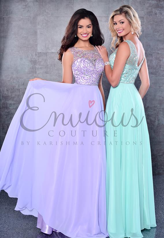 Chiffon Light Purple,Aqua 17271