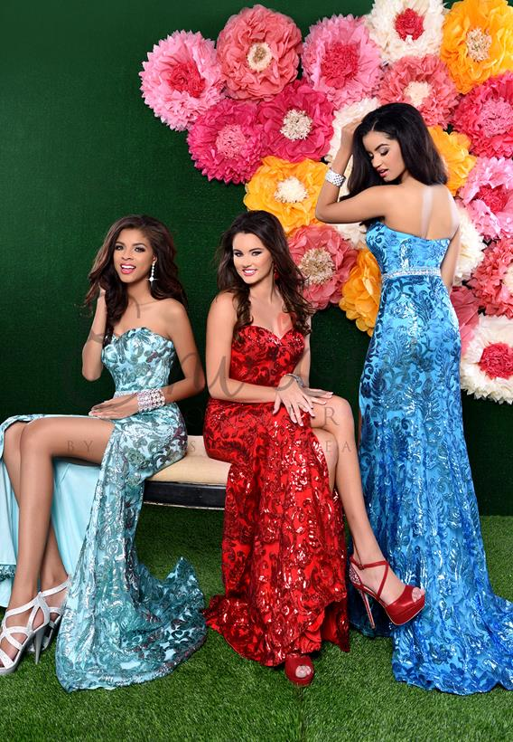 Sequined Turquoise,Mint,Red 17292