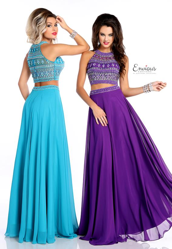 BEADED CHIFFON AQUA,PURPLE 18016