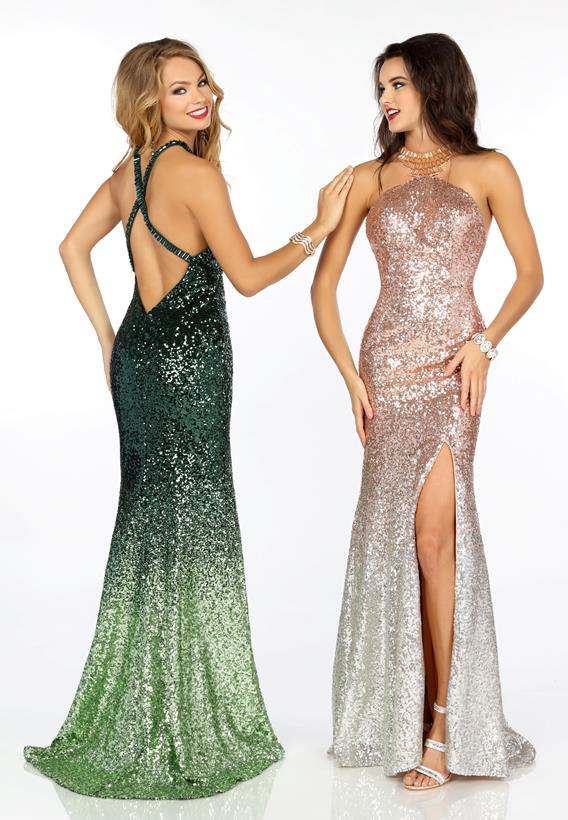 SEQUINS ROSE GOLD,SILVER,GREEN OMBRE 18170