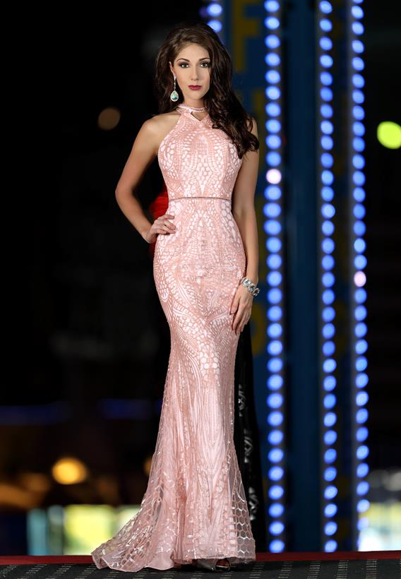 BEADED SEQUINS PINK 18173