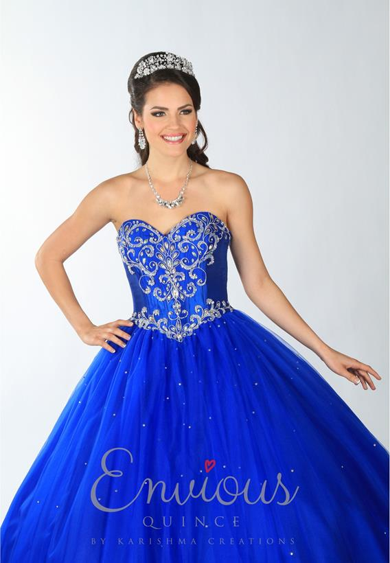 TULLE RED,ROYAL,WHITE 2191