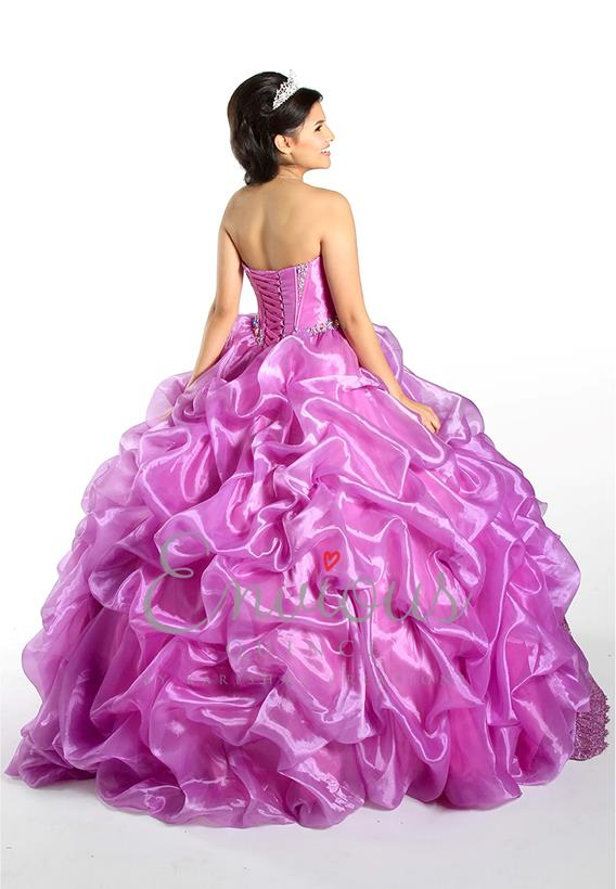ORGANZA CORAL,PURPLE,AQUA,WHITE 2205