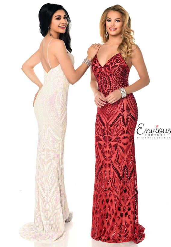 Sequins Ivory,Red,Nude,Black,Nude E1232