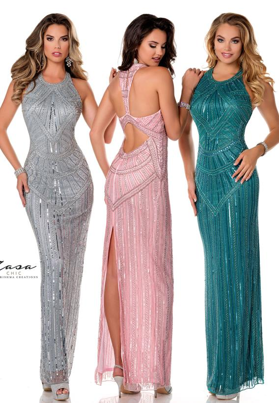 Beaded Tulle Light Grey,Jade,Pink K2007