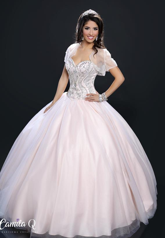 BEADED GLITTERED TULLE COBALT,BLUSH,RED Q17111