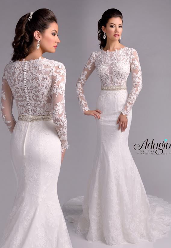 BEADED LACE IVORY,WHITE W9189
