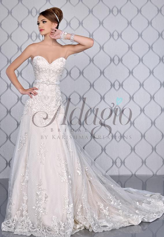 Lace Tulle Ivory,White W9246