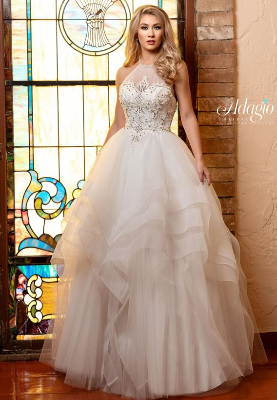 ffeef17788 Beaded Tulle Ivory