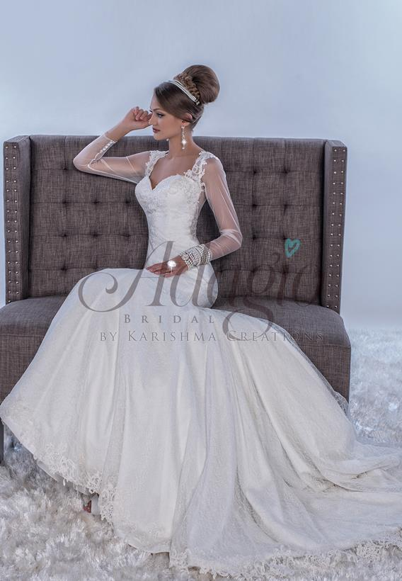 Lace Ivory,White W9275